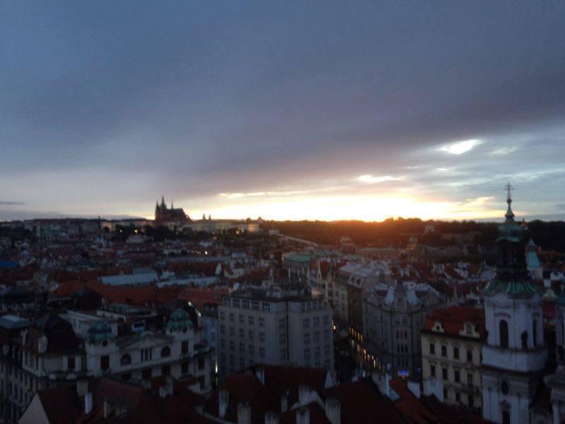 Prague sky-view 2020