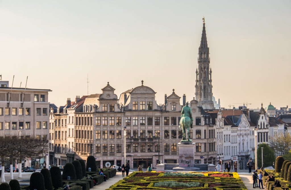 Backpacking Guide Brussels 2020